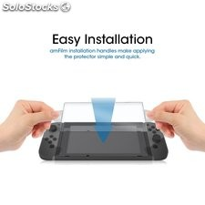 Nuglas For Nintendo Switch Console Premium Tempered Glass Screen Protector