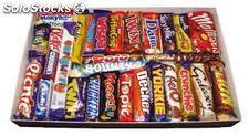 Nutella,Snickers,Mars,Lion,Bounty,Twix,Kit kat Chocolates