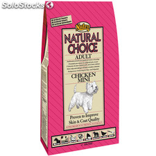 Nutro natural choice adult pollo y arroz razas pequeñas y mini 7 kg.