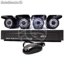 NVR Network DVR Kit Digital Video Recorder for CCTV surveillance cameras with