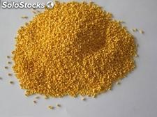 Nylon 6 de color amarillo