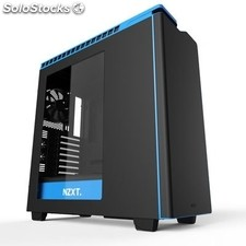 Nzxt Caja SemiTorre H440 Black/Blue Window