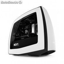 Nzxt - Manta itx-Tower Negro, Color blanco