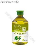 O'Herbal Champú para Cabello Rizado y Rebelde, con Extracto de Lúpulo 500 ml.