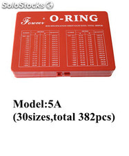 o-ring box specification orkit-5A(30SIZES,TOTAL382PCS)