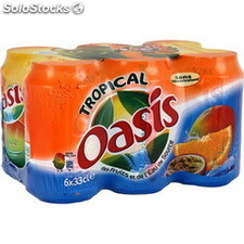 Oasis tropical boites 6X33 cl