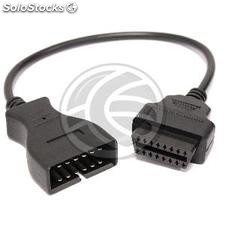 OBD II connector adapter 12pin to Daewoo (OB46)