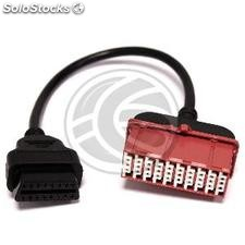 OBD II connector adapter to PSA Peugeot Citroen 30pin (OB55)