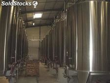 OCCASION. 22 cuves de vinification de 185 hls (18,5 m3) inox 304/316L.