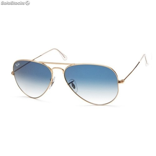7938d124d17af Ray Ban Armação Dourada E Lente Azul Degrade   United Nations System ...