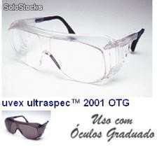 Óculos ultraspec 2001 otg incolor xtr lente anti embaçante