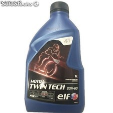 Óeo Elf Moto 4 Twin Tech 20W60, 1 l