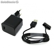 Oferta cargador de pared universal usb 2000 mah + cable tablet samsung