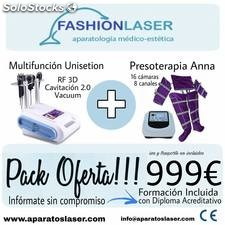 OFERTA PACK Multifuncion unisetion + Presoterapia anna