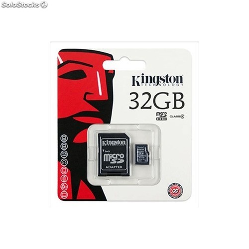 Oferta tarjeta de memoria micro sd hc kingston 32 GB 32GB clase 4