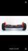 Off-road self-balance hoverboard