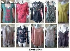 Offer stock of 2000 pieces mixed clothing woman.