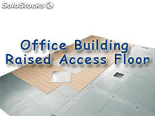 office building raised access floor system