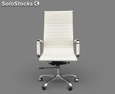 Office Chair 9 High (varios colores) Blanco