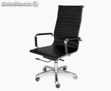 Office Chair 9 High (varios colores) Negro