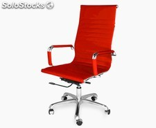 Office Chair 9 High (varios colores) Rojo