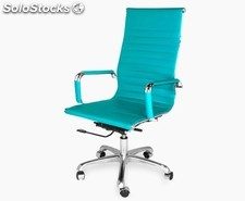 Office Chair 9 High (varios colores) verde-agua