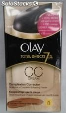 Olay total effects. X7 complexion correctora cc cream.