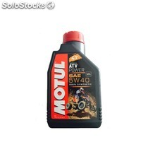 óleo motul atv power 4t 5w40, 1 l