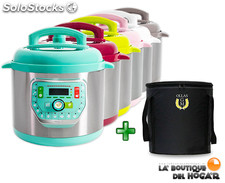 Olla Programable GM modelo G Color - 6 litros + Bolsa de transporte GM