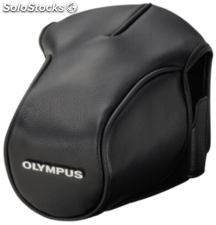 Olympus cs-36FBC Leather Bag black for om-d e-M5