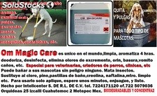 Om Magic Care,Quita olores, insecticida, y aromatiza por mas de 4 hrs.