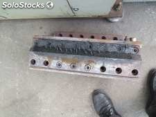 One Head of cable (spaghettis) with 38 holes, exit and diameter entered 70mm,