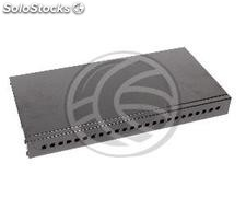 Optical Fiber Patch Panel 1U FC black 24 (FQ06-0002)