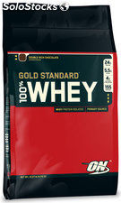 Optimum Nutrition 100% Whey Gold Standard, Double Rich Chocolate, 10 lbs