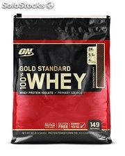 Optimum Nutrition 100% Whey Gold Standard, Double Rich Chocolate, 5lbs /10Lbs