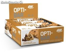 Optimum Nutrition Opti-Bar Protein Bar, Chocolate Chip Cookie Dough, 12 Count