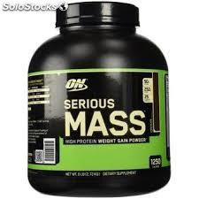 Optimum Nutrition: Serious Mass 6 Libras.