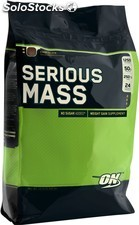 Optimum Nutrition Serious Mass, Chocolate, 12 lbs