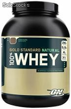 Optimum Nutrition Suero 100% natural, 5 Lbs.