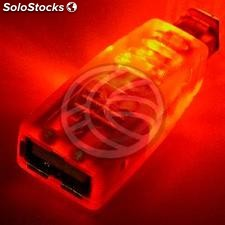 Orange led usb Adapter (ah/bm) (UB33)