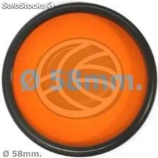 Orange photography lens filter 58 mm (EF24)