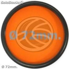 Orange photography lens filter 72 mm (EF27)