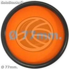 Orange photography lens filter 77 mm (EF29)