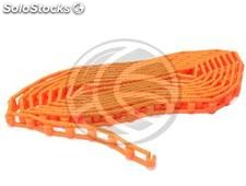 Orange plastic string winder study funds (EE66)