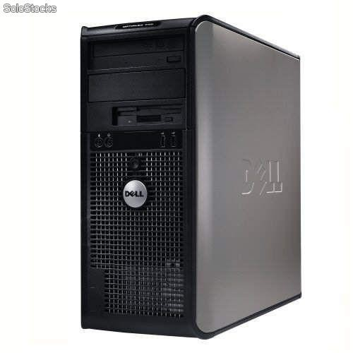 ordenador dell optiplex 755 torre dual core 2 2 ghz 2 gb ram 80 hdd coa xp. Black Bedroom Furniture Sets. Home Design Ideas