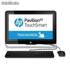 "ORDENADOR HP ALL IN ONE TACTIL AMD A4-5000 AIO 22""/ 4GB/ 500GB/ DVD±RW/ WEBCA"
