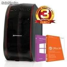 ORDENADOR PHOENIX HOME-TR2 WIN 8.1 + OFFICE INTEL G1620 DDR3 4 GB DDR3 500GB RW