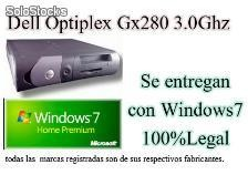 Ordenadores Dell Optiplex con Sistema Operativo Nuevo Legal Windows 7 + Garantía
