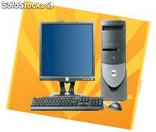 Ordenadores Dell Torre Intel P4 3 Ghz, 512 Mb, 80 Gb,Cd Rom + Dell TFT 17''
