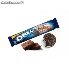 Oreo chocolate brownie 154g - biscotto ripieno di crema al cioccolato brownie